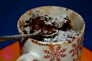 Brownie en una taza