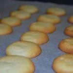 Galletitas crujientes de queso crema
