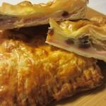Empanada de dátiles, bacon y queso