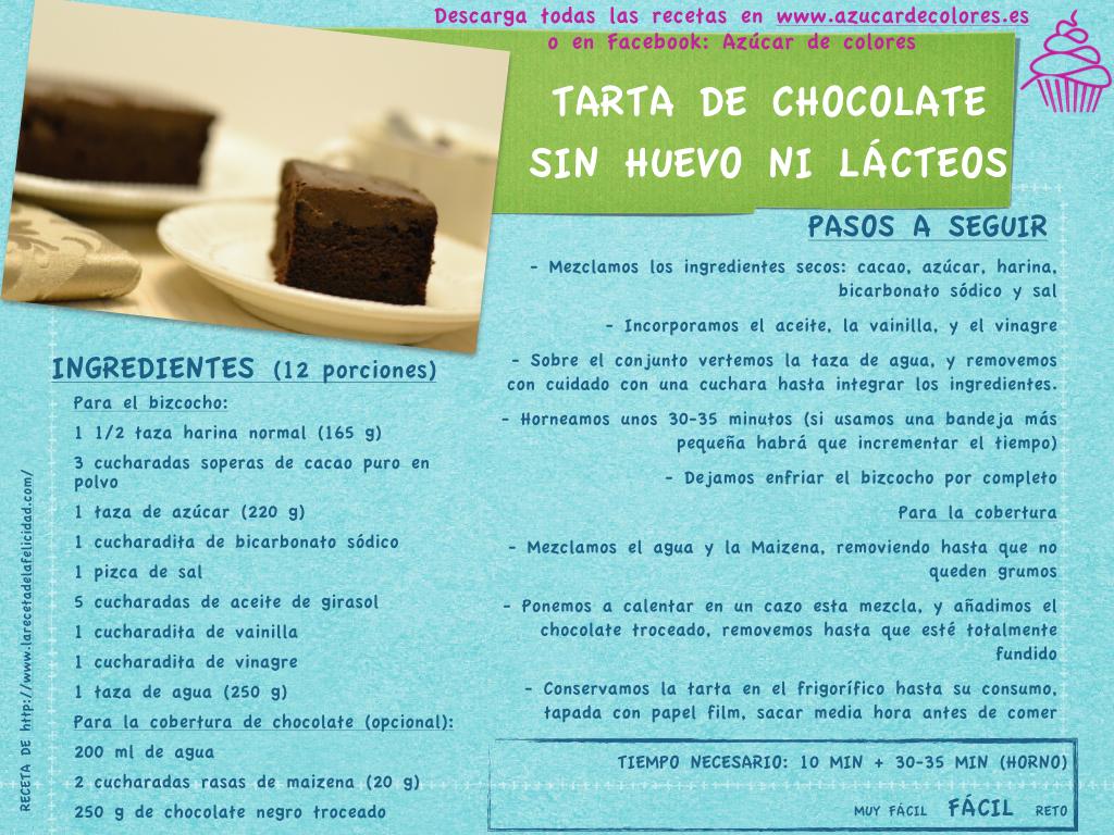 tarta de chocolate sin huevo ni lácteos.001