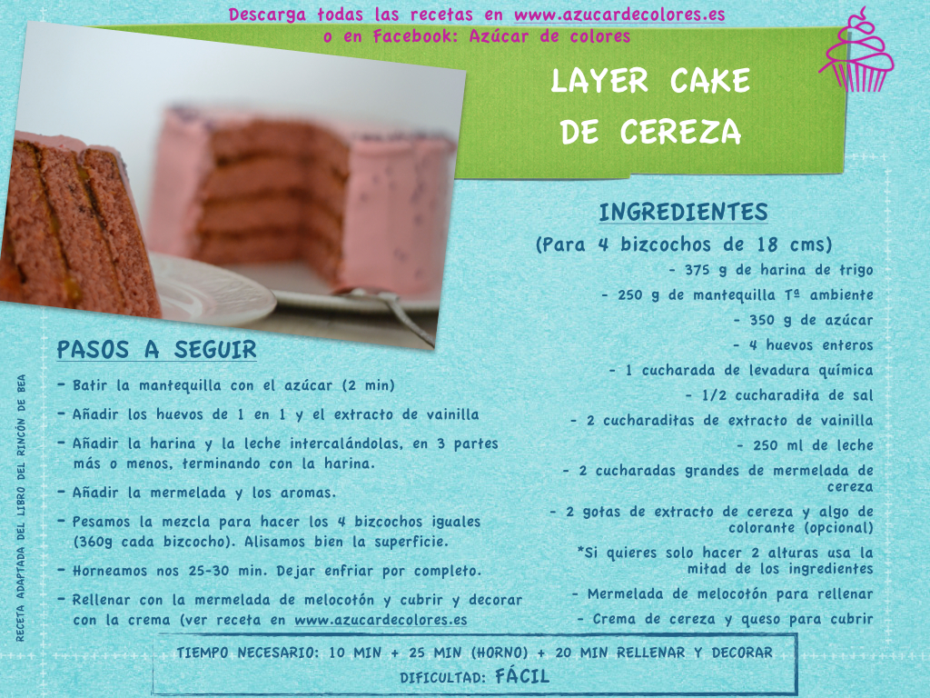 layer cake de cereza2.001