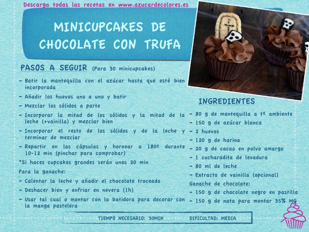 minicupcakes de chocolate con trufa.001