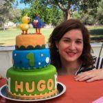 tarta cumple Hugo